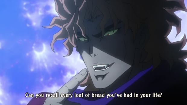 JoJo Dio bread