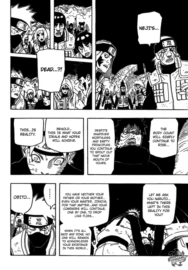 Naruto is a fussy fool.