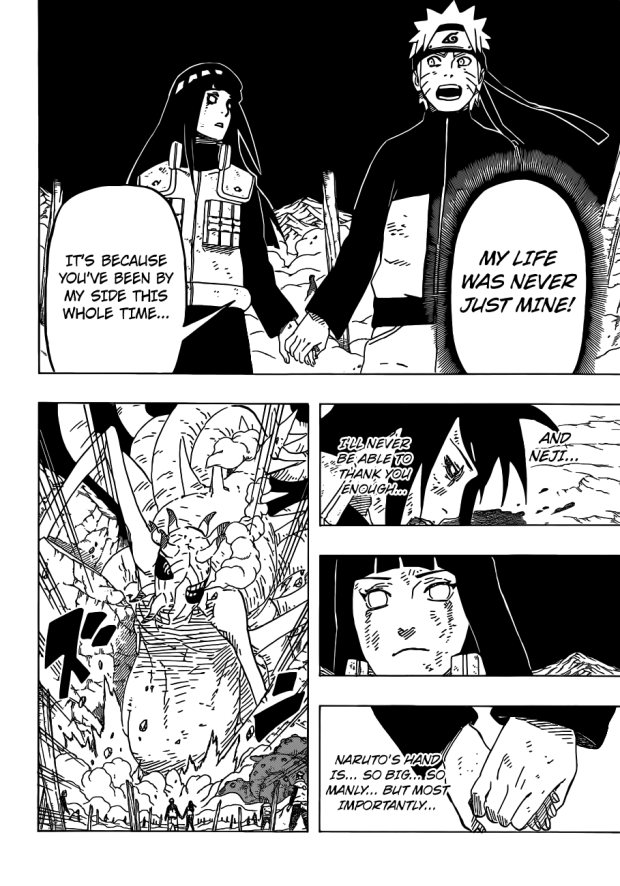 Naruto holds hands