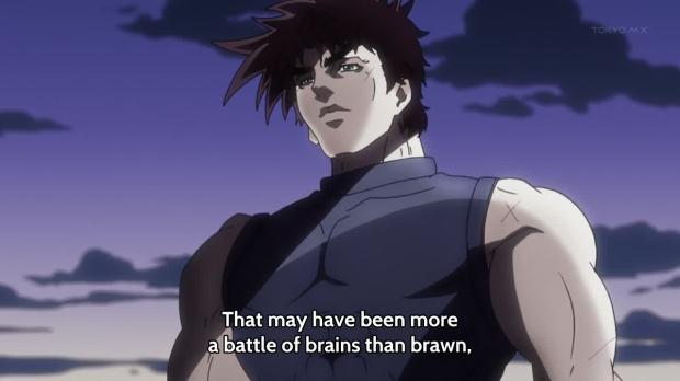 JoJo brain battle