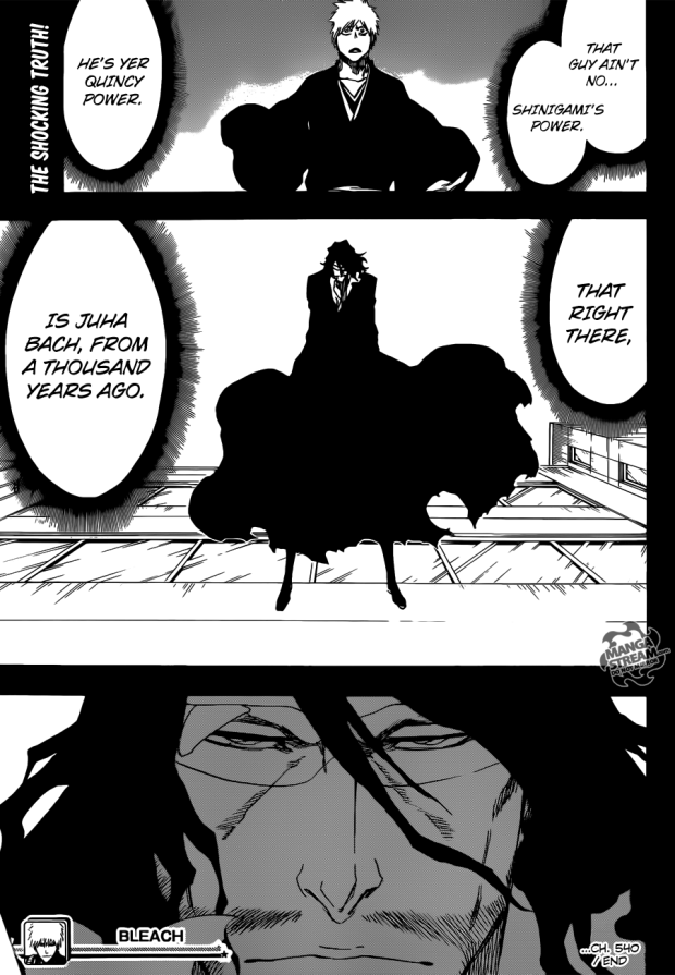 It doesn't matter who or what he is, Old Man Zangetsu will always be an eternal badass in my eyes.