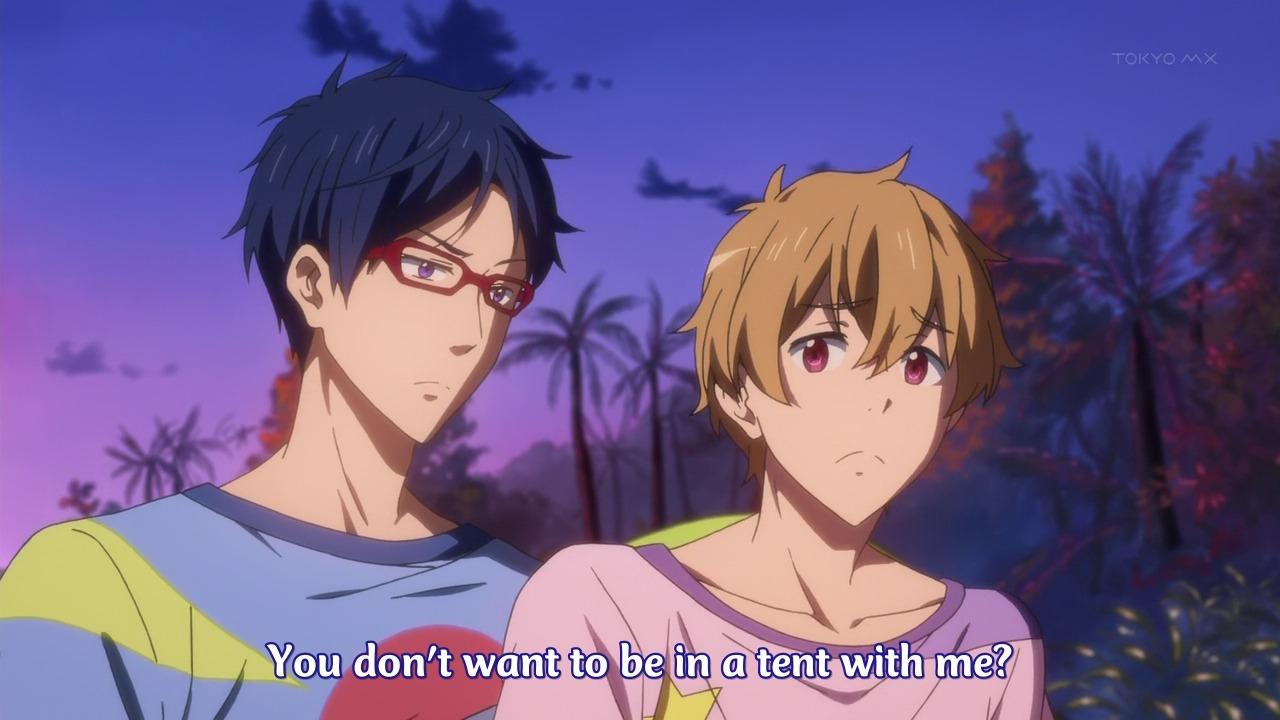 Nitori Aiichirō x Matsuoka Rin is the weakest relationship in Free ... Jealous Boyfriend Memes