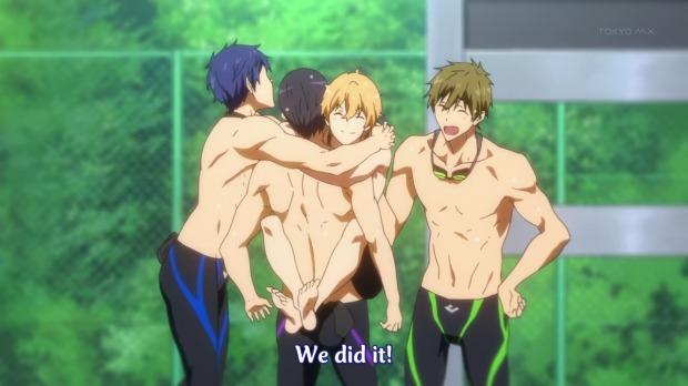 Free Group Hug, Nagisa is quite kinky