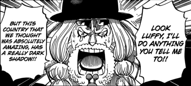 One Piece Franky Tears
