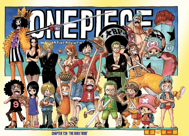 One Piece 726 Cover