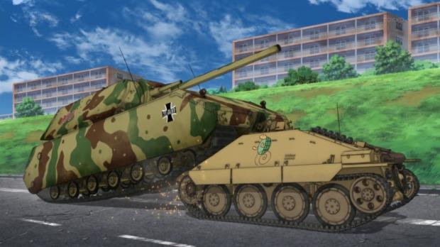 Girls und Panzer 10