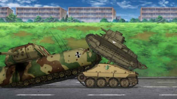 Girls und Panzer 11