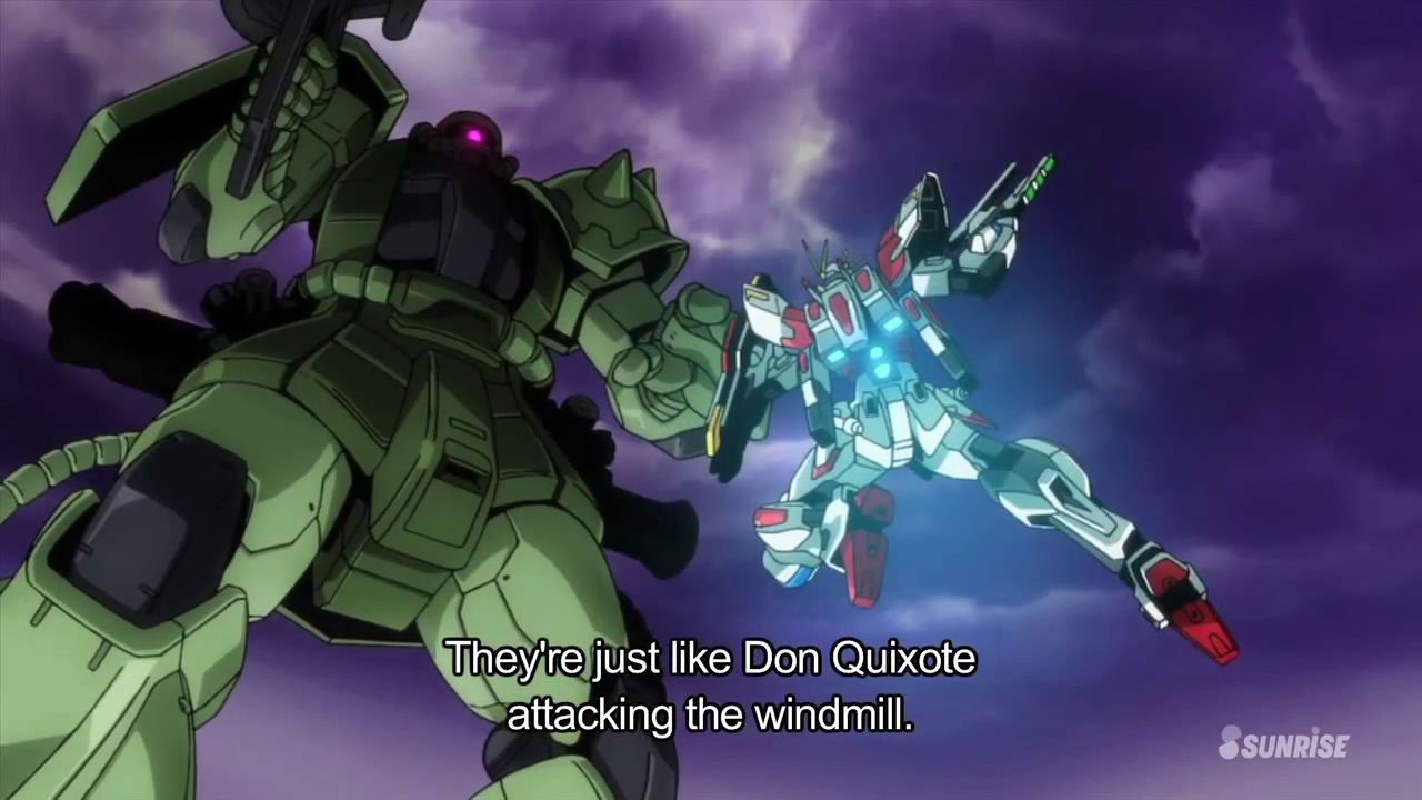 12 days of anime 11 gundam build fighters toxic muffin for Domon in gundam build fighters