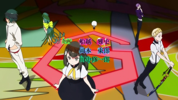 Gatchaman Crowds Intro