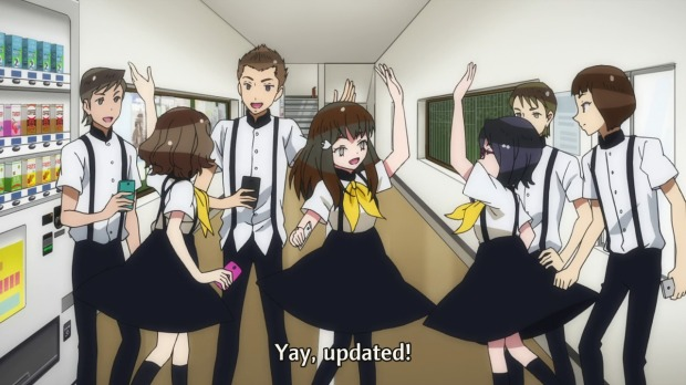 Gatchaman Crowds Updated