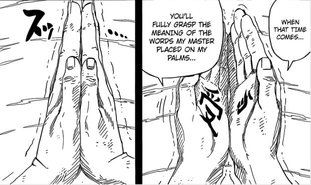 Naruto hands