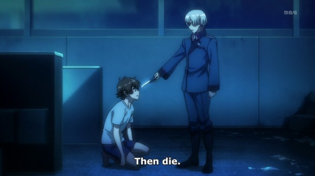 Only in Valvrave can you go from this