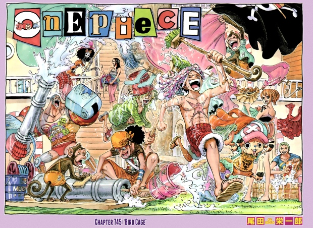 One Piece covers are always the best.