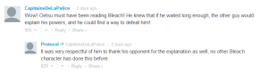 Bleach Comment