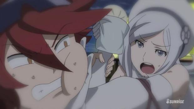 Gundam Build Fighters Reiji Aila