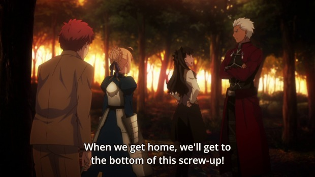 Fate Stay Night Unlimited Blade Works 22