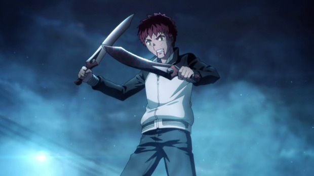 Shirou was rarely cool (though I didn't dislike him), but him creating those swords was pretty damn cool.