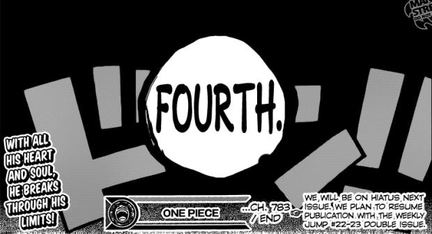 one piece GEAR FOUR