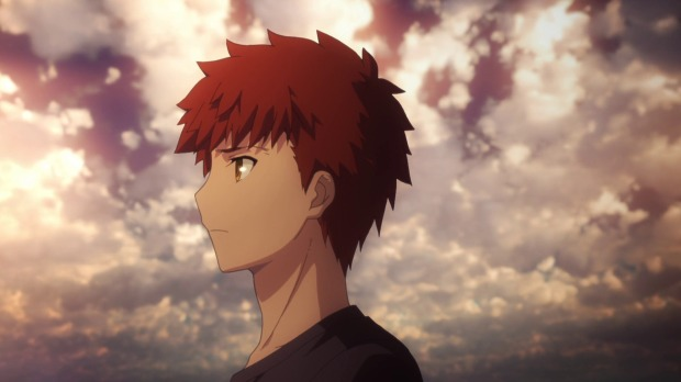 Just look at that lighting and those clouds. A perfect anime portrait.