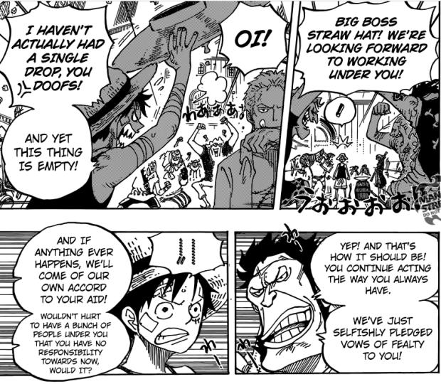 One Piece free spirit