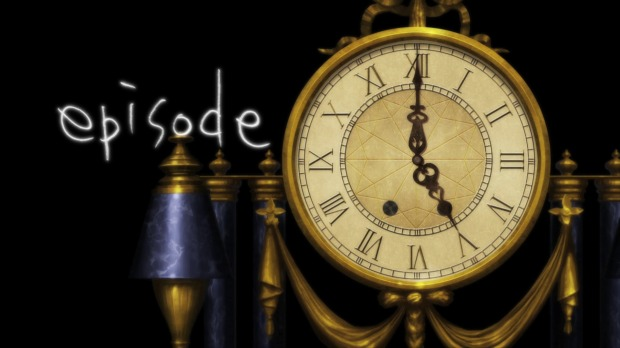 The clock turning to indicate the episode number is really cool.